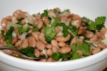 Bean and herb salad